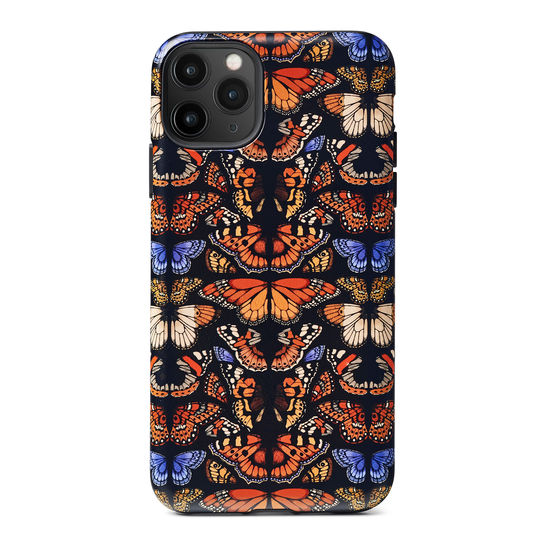 Emily Carter iPhone 11 Pro Max Case - Black British Butterfly from Aspinal of London