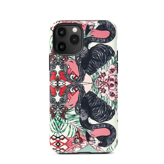 Emily Carter iPhone 11 Pro Case - Flamingo from Aspinal of London