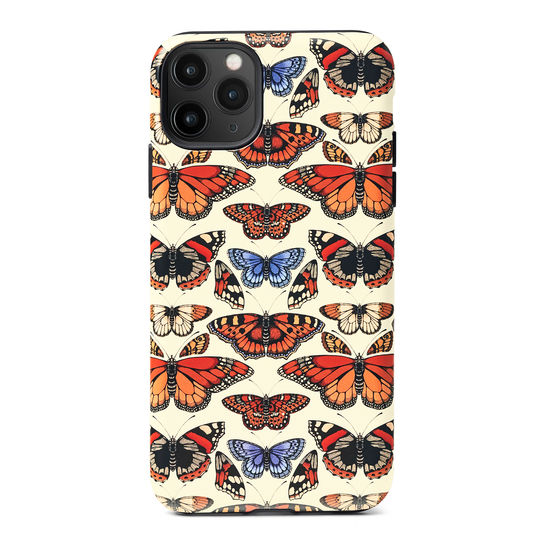 Emily Carter iPhone 11 Pro Max Case - Cream British Butterfly from Aspinal of London