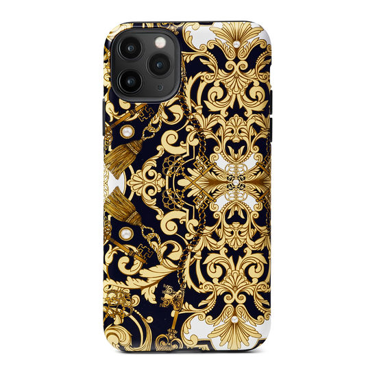 Emily Carter iPhone 11 Pro Max Case - Pearl Baroque from Aspinal of London