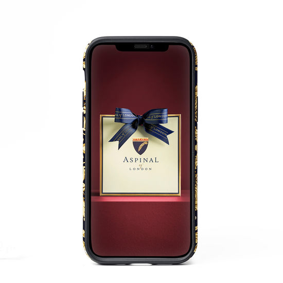 Emily Carter iPhone 12/12 Pro Case - Pearl Baroque from Aspinal of London