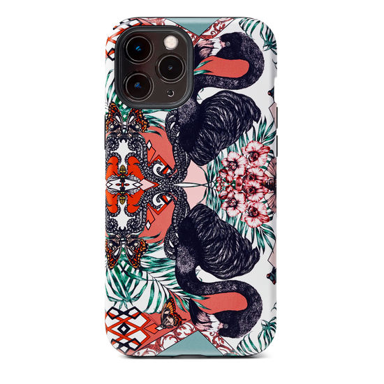Emily Carter iPhone 12 Pro Max Case - Flamingo from Aspinal of London