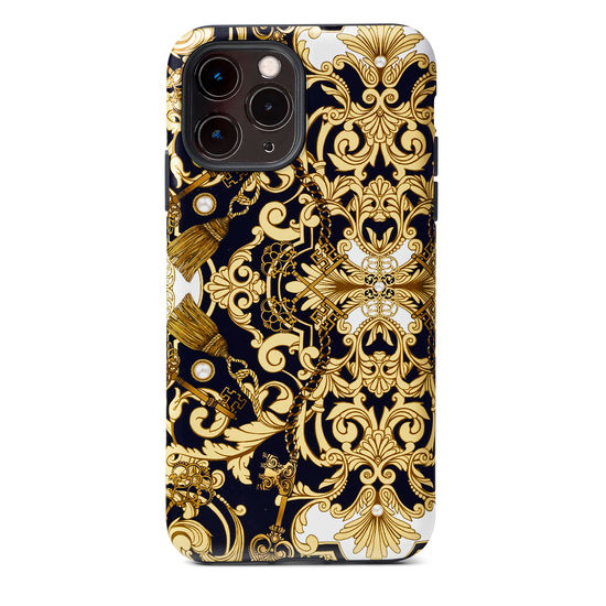 Emily Carter iPhone 12 Pro Max Case - Pearl Baroque from Aspinal of London