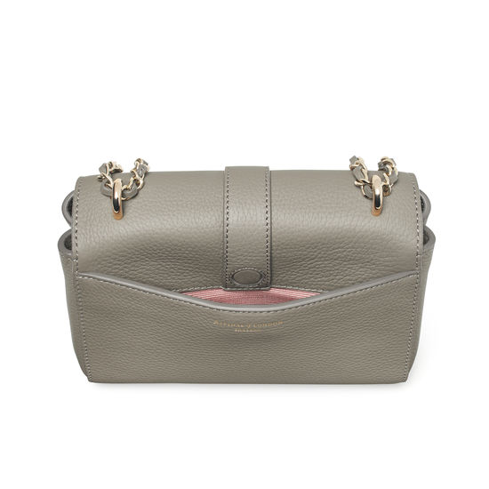 Lottie Bag in Warm Grey Pebble from Aspinal of London