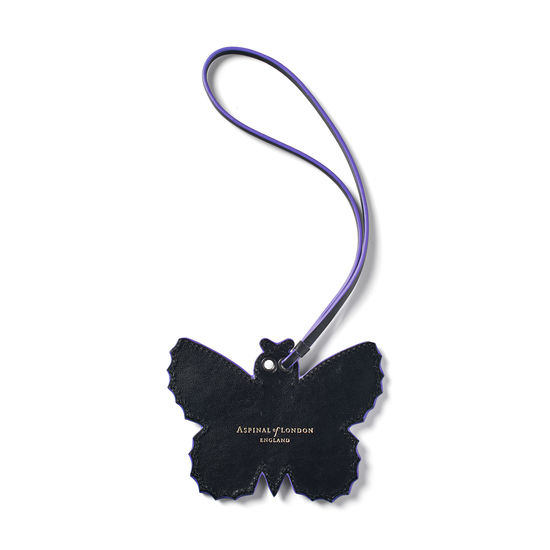 Butterfly Charm in Smooth English Lavender from Aspinal of London