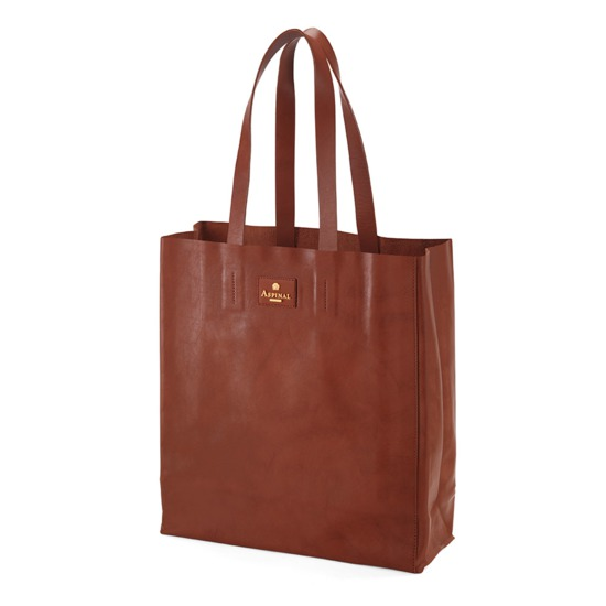 Aspinal Essential Tote in Smooth Tan from Aspinal of London