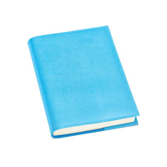 A5 Refillable Journal in Aquamarine Lizard from Aspinal of London
