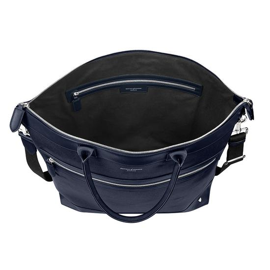 Anderson Tote in Navy Saffiano from Aspinal of London