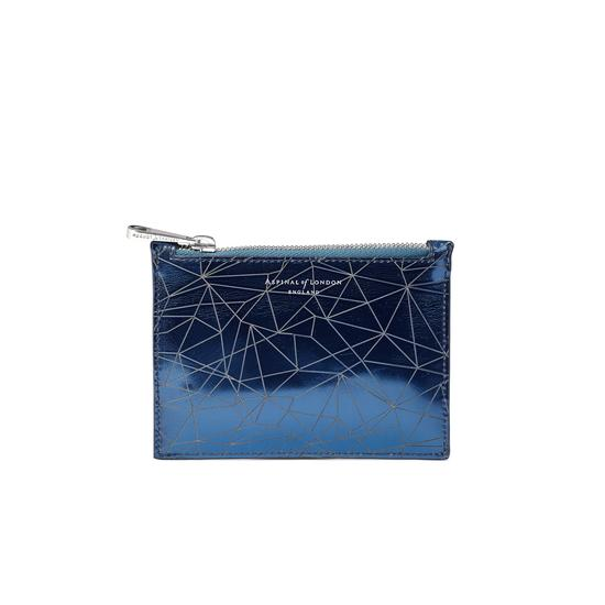 Small Essential Flat Pouch in Infinity Blue from Aspinal of London