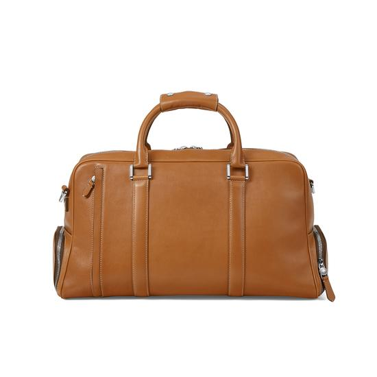 Aerodrome 48 Hour Mission Bag in Smooth Tan from Aspinal of London