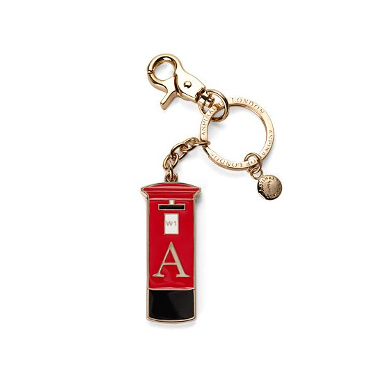 London Post Box Key Ring from Aspinal of London