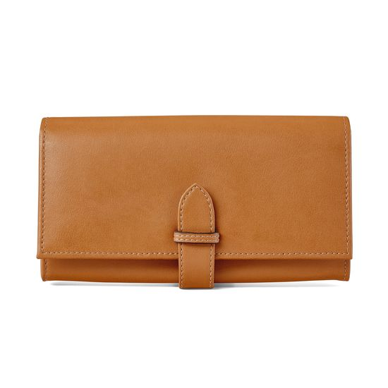 London Ladies Purse Wallet in Smooth Tan from Aspinal of London