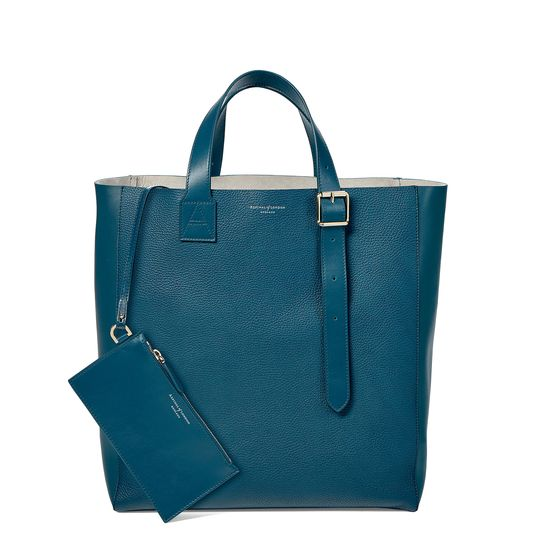 Editor's 'A' Tote in Topaz Pebble from Aspinal of London