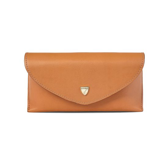 2753b6ad45a Leather Sunglasses Case in Smooth Tan from Aspinal of London ...