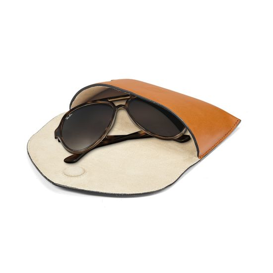 3e630b987e2 ... Leather Sunglasses Case in Smooth Tan from Aspinal of London ...