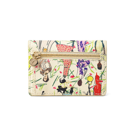 Giles x Aspinal (Accordion Card Holder - Girls Print) from Aspinal of London