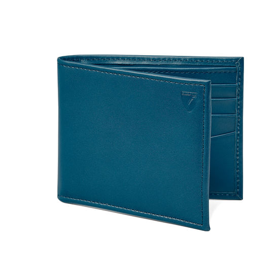 Billfold Wallet in Smooth Topaz from Aspinal of London