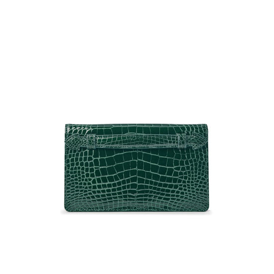 54532cdfe20c ... Ava Bag in Evergreen Patent Croc from Aspinal of London ...