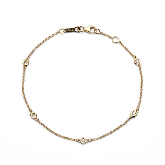 Celeste 18ct Gold Diamond Bracelet from Aspinal of London