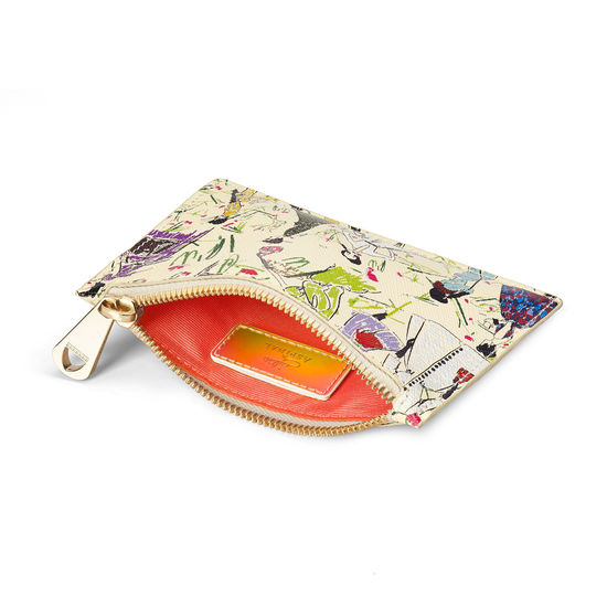 Giles x Aspinal (Small Pouch - Girls Print) from Aspinal of London