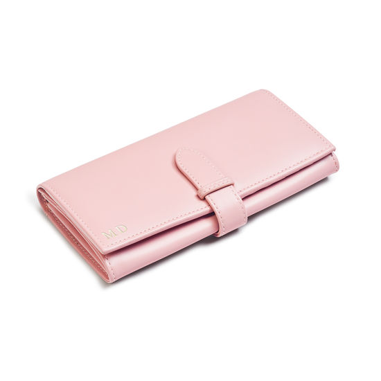 London Ladies Purse Wallet in Smooth Peony from Aspinal of London