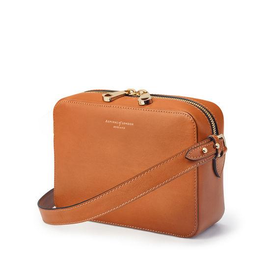 Camera Bag in Smooth Tan from Aspinal of London