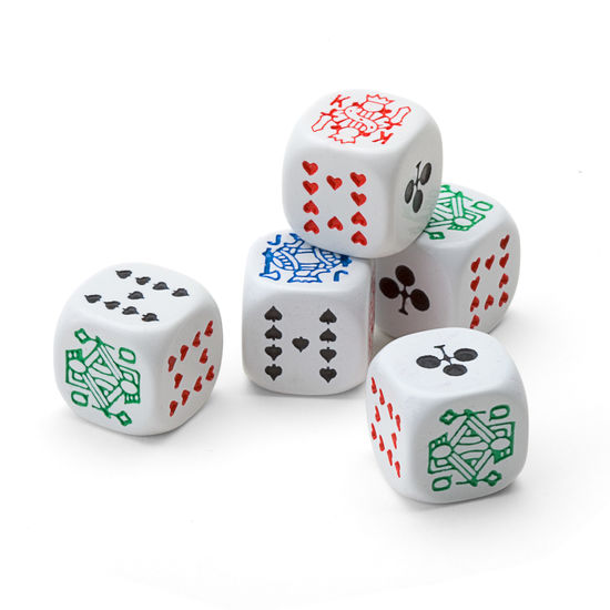 Luxury Poker Dice from Aspinal of London