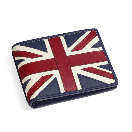 Brit 8 Card Billfold Wallet from Aspinal of London