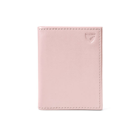 ID & Travel Card Case in Smooth Peony from Aspinal of London