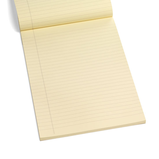 A4 Writing Pad Refill with Lined Pages from Aspinal of London