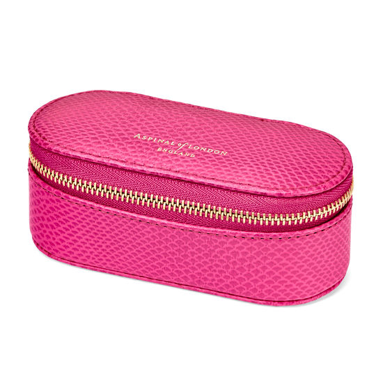 Handbag Tidy All in Raspberry Lizard from Aspinal of London