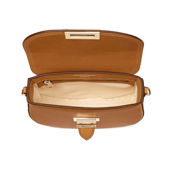 Portobello Bag in Smooth Tan from Aspinal of London
