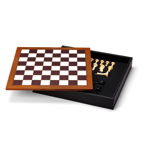 Chess Set in Camel from Aspinal of London