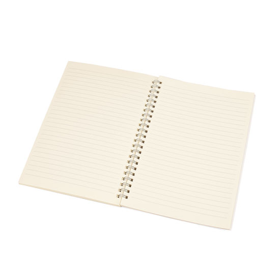 A5 Spiral Bound Writing Pad Refill with Lined Pages from Aspinal of London