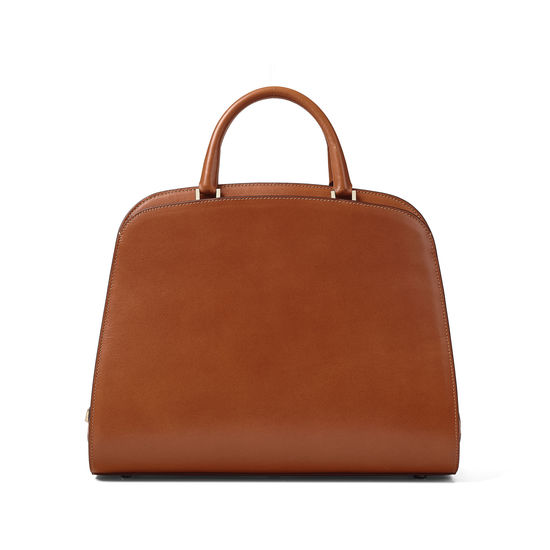 Giles x Aspinal (Hepburn Bag - Smooth Tan) from Aspinal of London