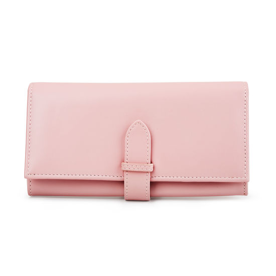 London Ladies' Purse Wallet in Smooth Peony from Aspinal of London
