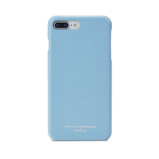 iPhone 7 Plus Leather Cover in Smooth Bluebird from Aspinal of London