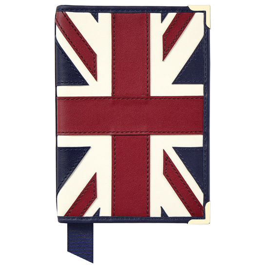 Brit Passport Cover from Aspinal of London