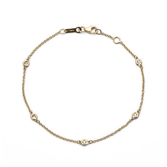 Celeste 18ct Gold Diamond Bracelet from Aspinal of London