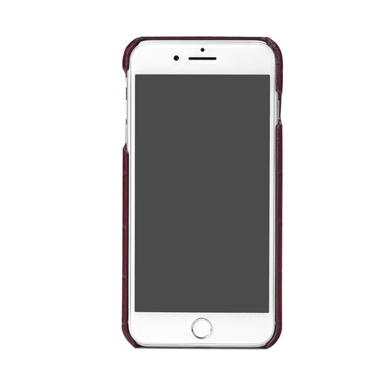 cover iphone 7 bordeaux