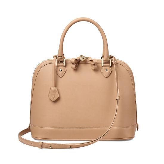 Hepburn Bag in Smooth Deer from Aspinal of London