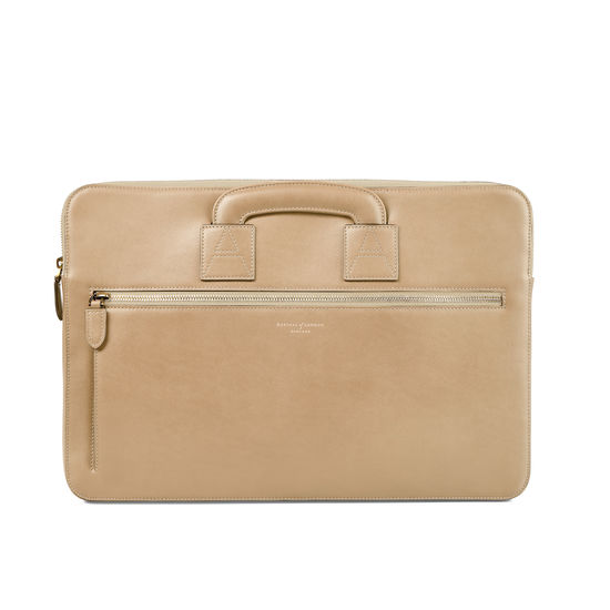 Connaught Document Case in Smooth Deer from Aspinal of London