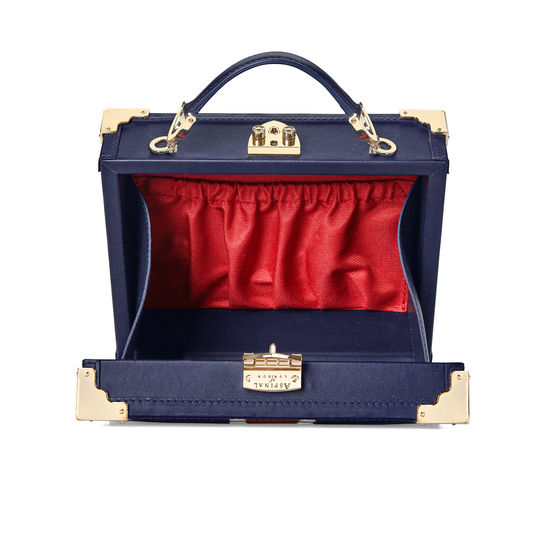 Brit Mini Trunk Clutch from Aspinal of London