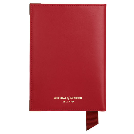 Passport Cover in Smooth Berry from Aspinal of London