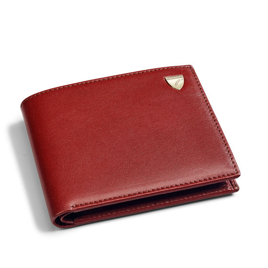 Billfold Coin Wallet in Smooth Cognac from Aspinal of London