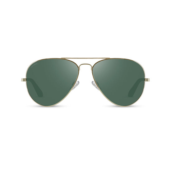 Navigator Sunglasses (Gold Metal) from Aspinal of London