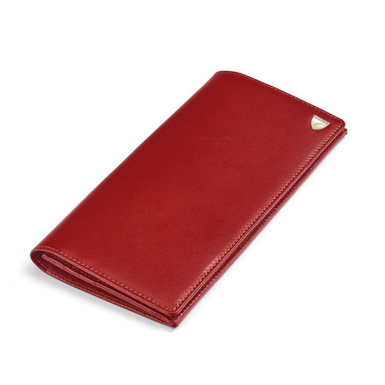 10 Card Slim Coat Wallet in Smooth Cognac from Aspinal of London