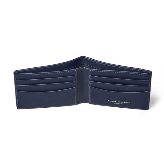 Brit 6 Card Billfold Wallet from Aspinal of London