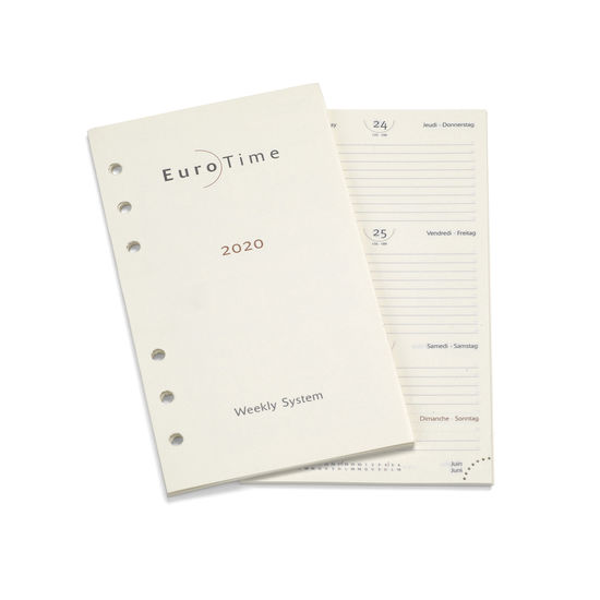 2020 Diary Insert for Bijou Personal Organiser from Aspinal of London