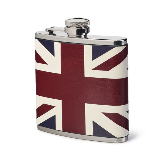 Brit 5oz Classic Hip Flask from Aspinal of London